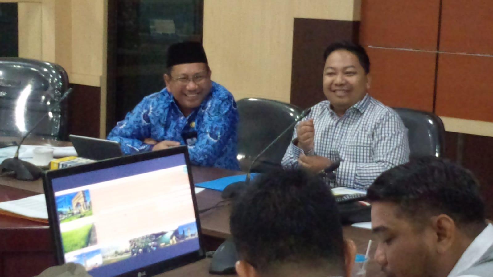 Dihadapan DPRD Banjar, Simulasi Perhitungan IMB Dipersentasikan Sekda Banjar 4