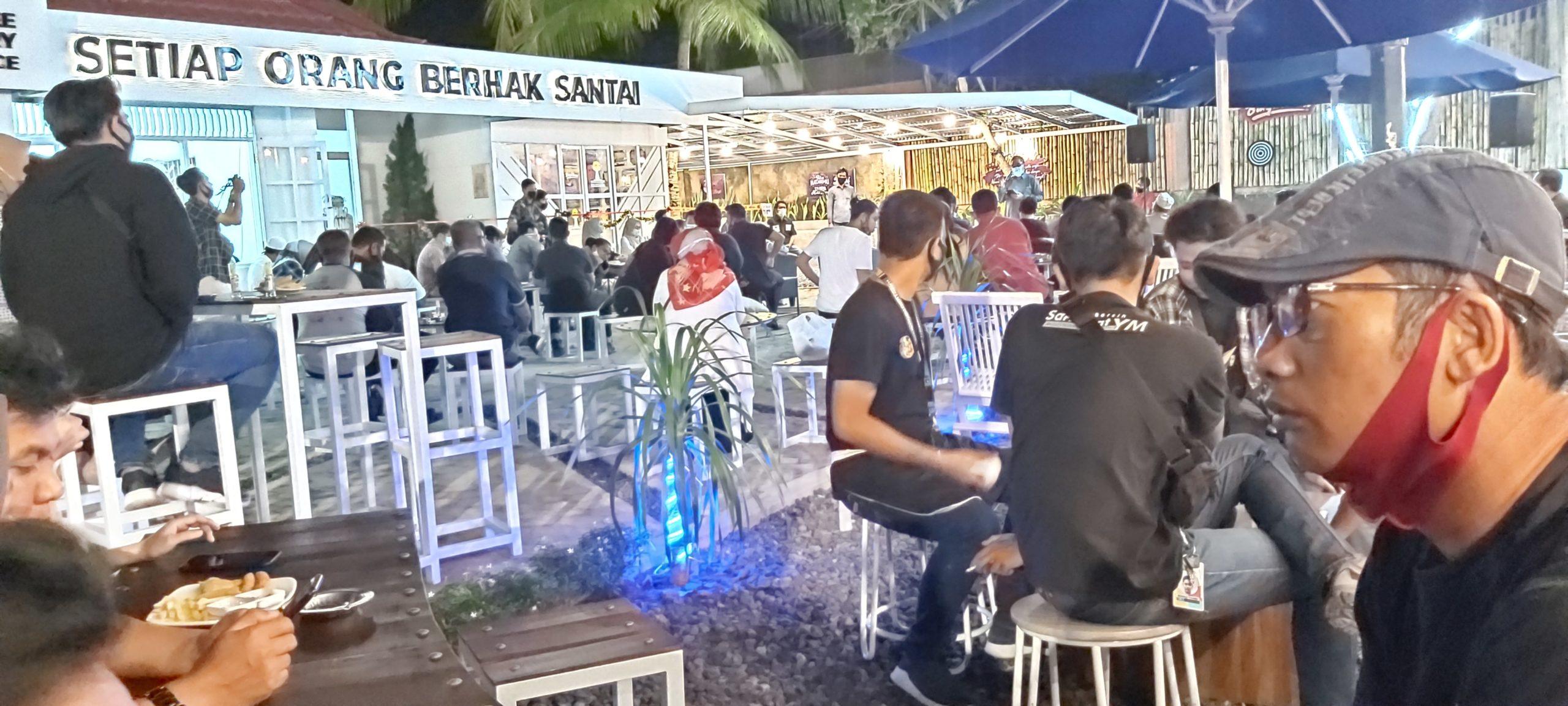 Darmawan Jaya Apresiasi Grand Opening Cafe Balai Kuta Ditengah Pandemi Covid-19 5