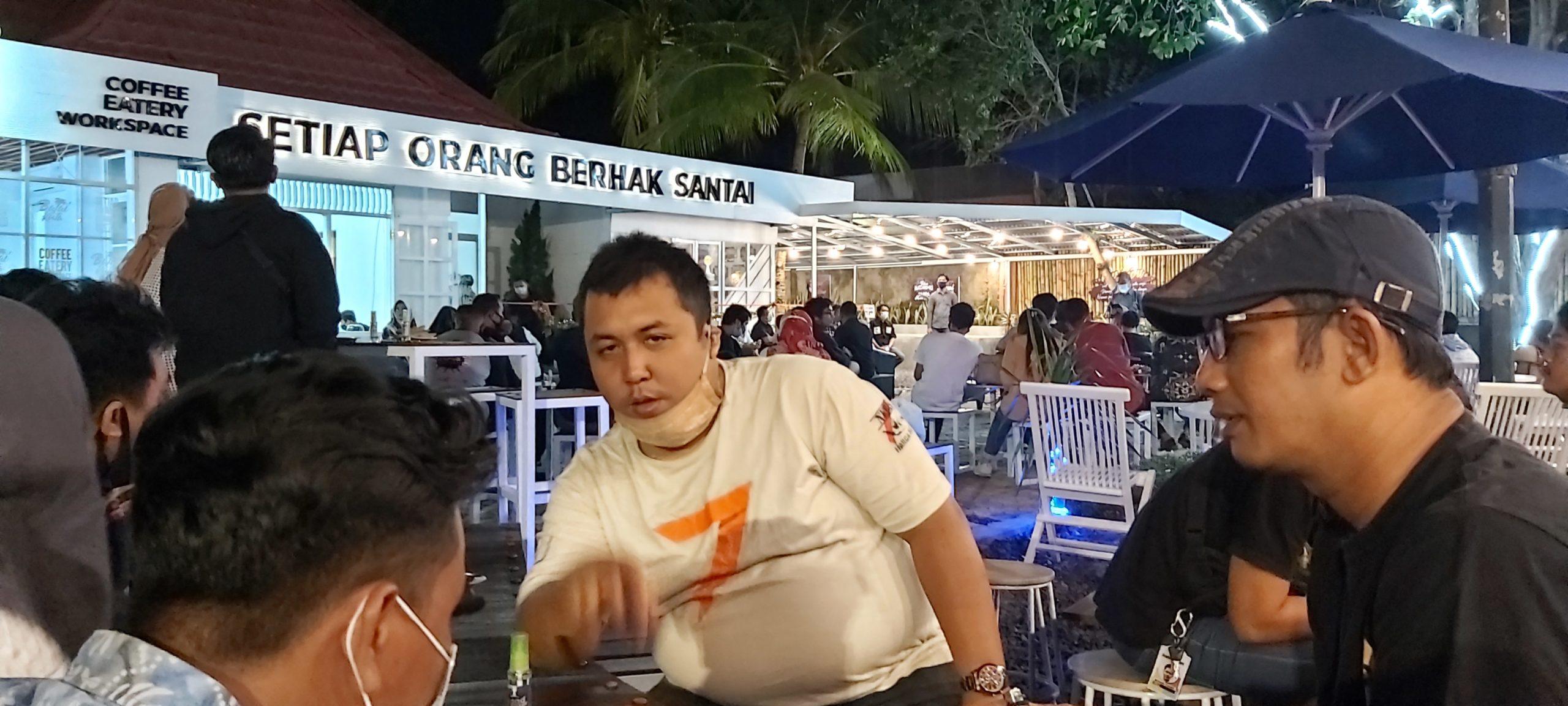 Darmawan Jaya Apresiasi Grand Opening Cafe Balai Kuta Ditengah Pandemi Covid-19 4