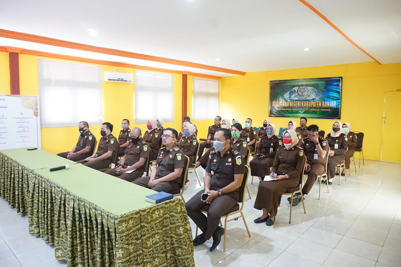 Dukung WBK Kejari Kabupaten Banjar, Dinas Kominfostandi Buatkan Aplikasi Data Kepegawaian 5