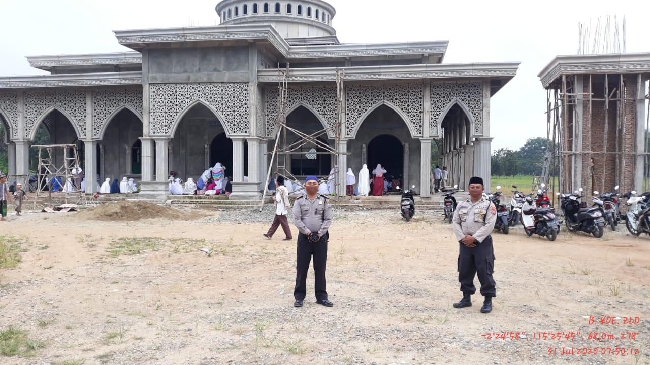 Polres Balangan Lakukakan Pengamanan Sholat Idul Adha 1441 Hijriyah 5